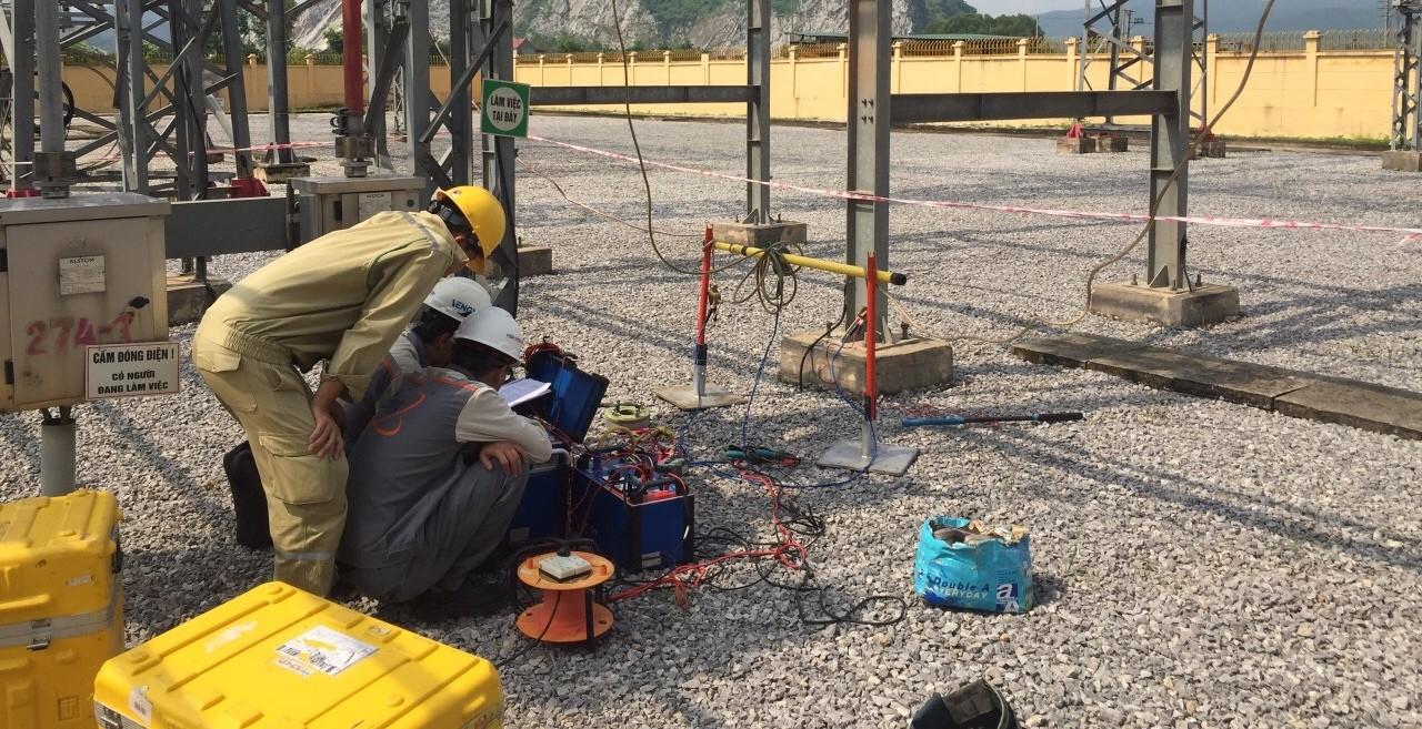Đo thông số đường dây 500kV, 220kV của PTC1